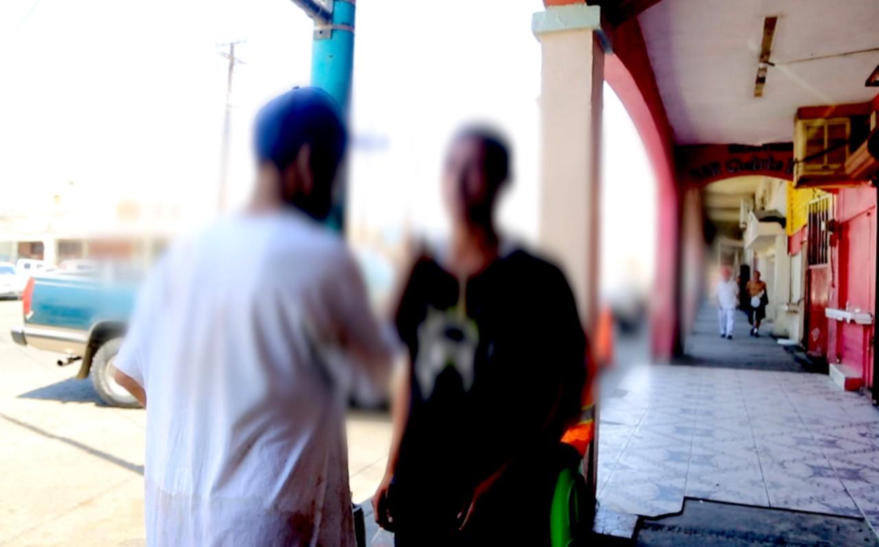 Consumidores en las calles de Mexicali