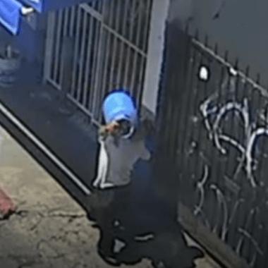 Cámara captó a un hombre que violó y mató a niña de 6 años