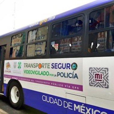 Botones de pánico en autobuses de edo mex