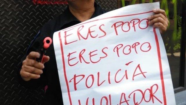 Daños causados por marcha de mujeres en la PGJ CDMX