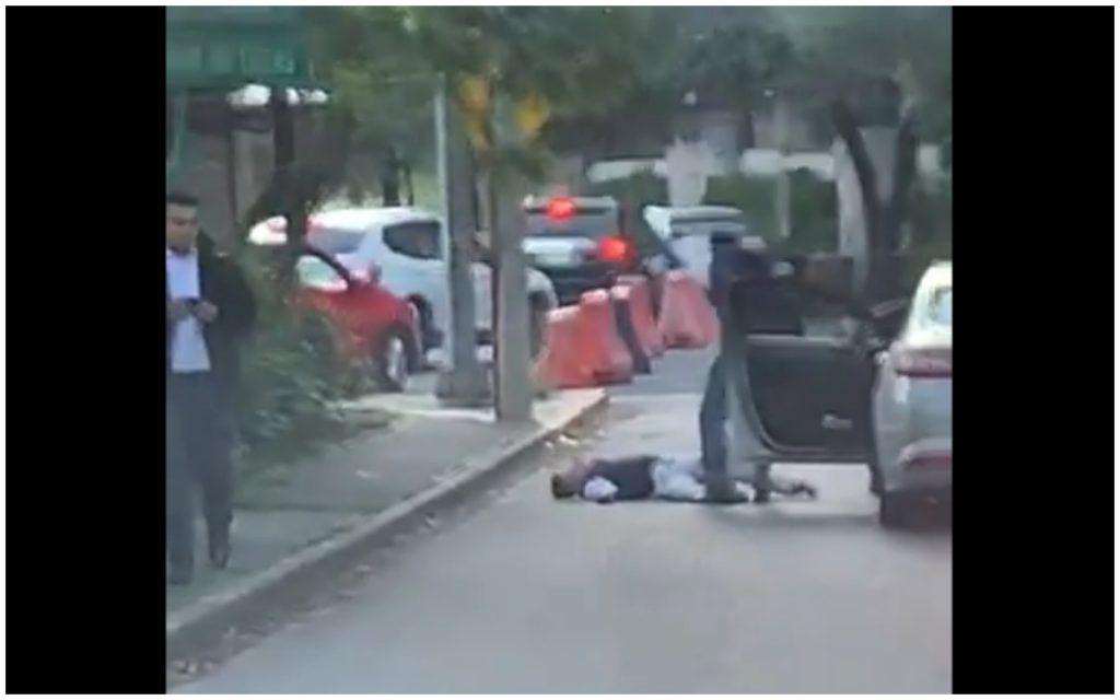 Escolta dispara contra presunto ladrón en Reforma