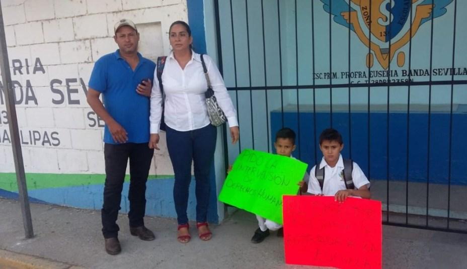 Escuela en Altamira prohibió entrada a niños que no pagaron