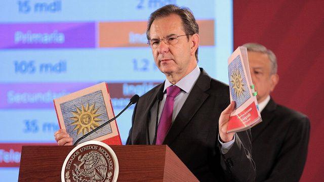 Libros de texto de la SEP podrán ser consultados en internet