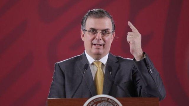 Marcelo Ebrard condena actos de terrorismo en Estados Unidos