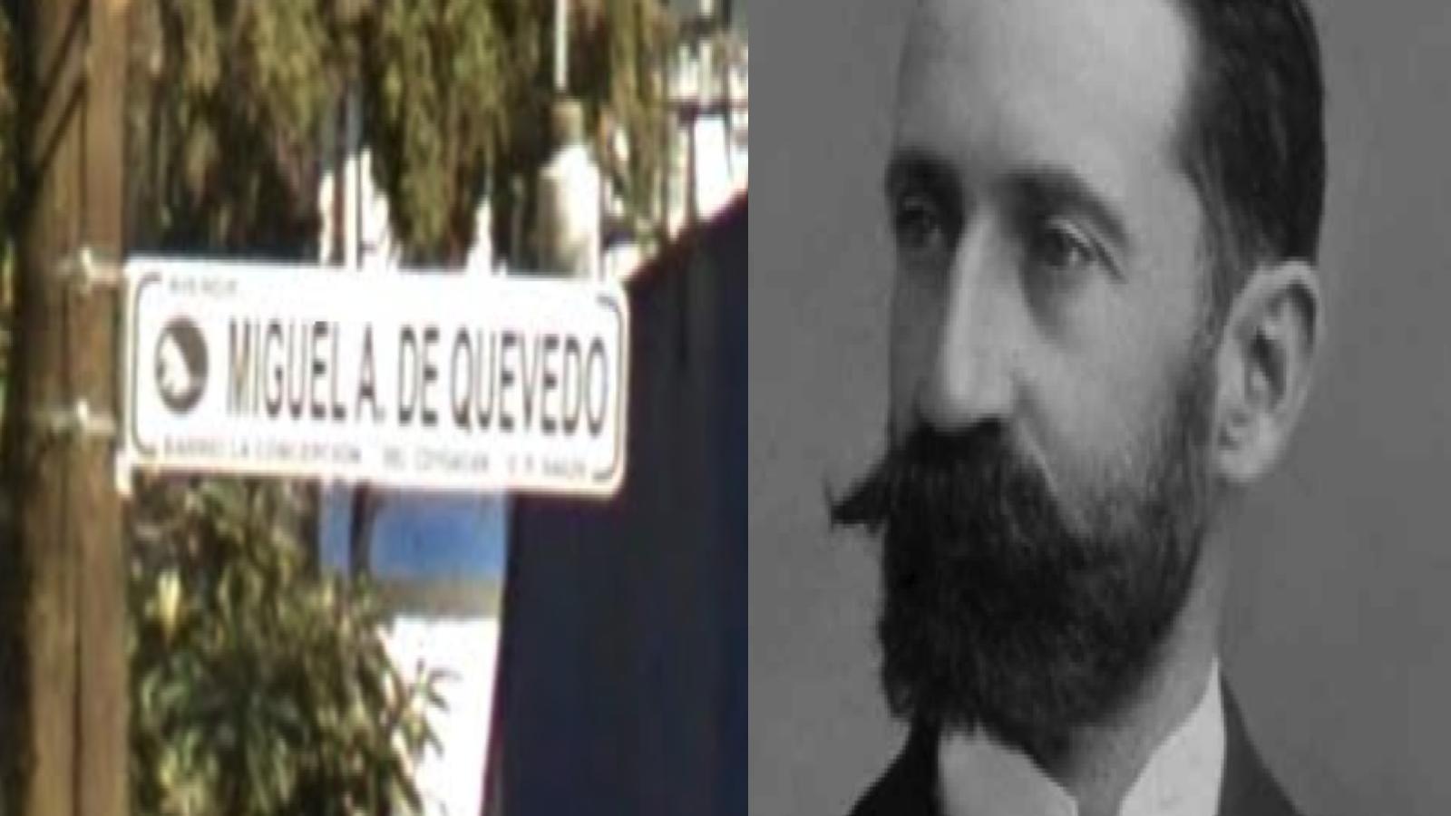 Quién era Miguel Ángel de Quevedo y por qué tiene una calle