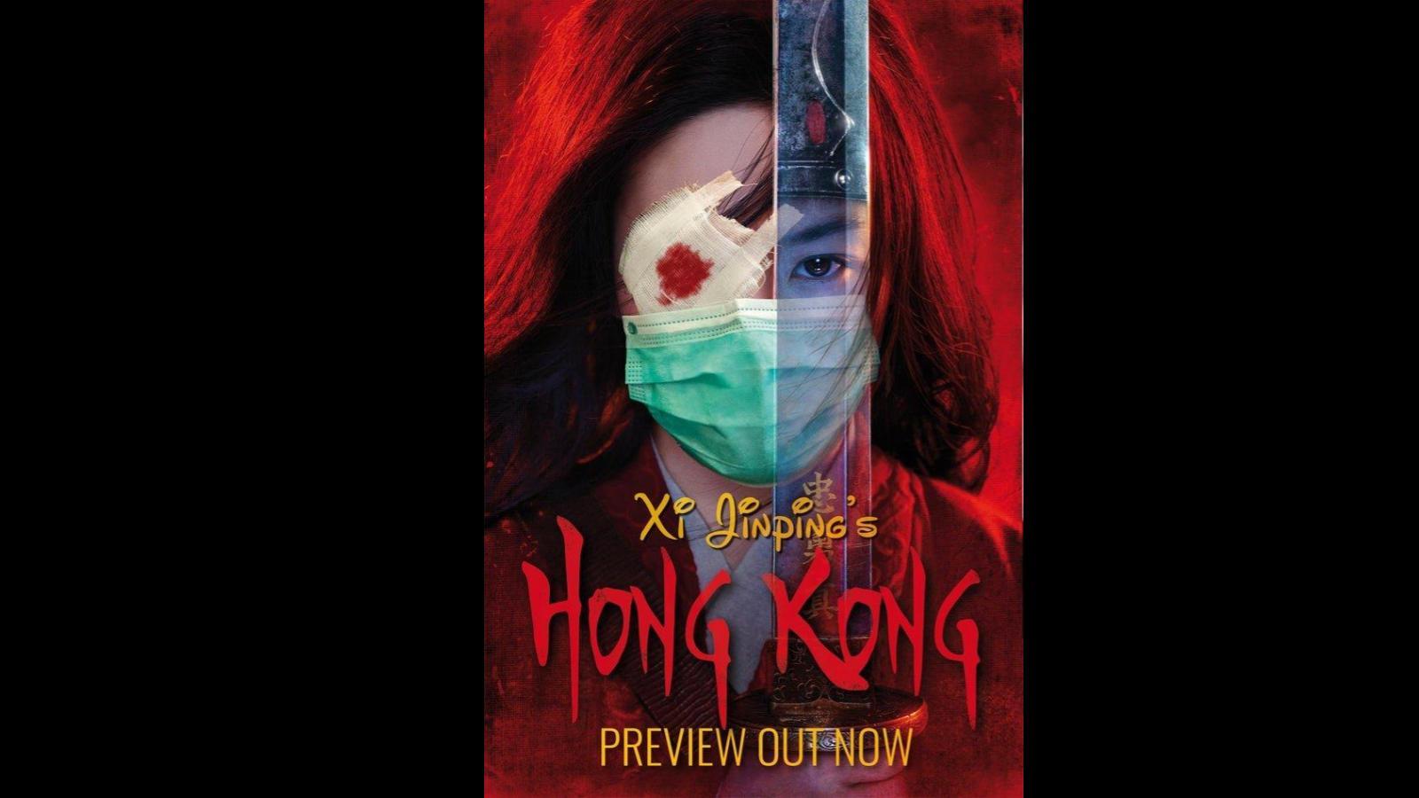 Continúan protestas en Hong Kong, ahora también contra Disney