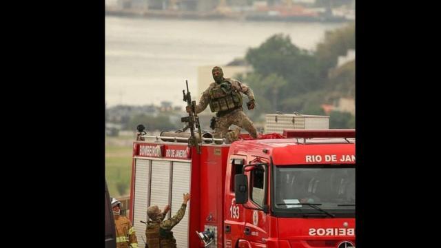 En Brasil hombre secuestra camión con 37 pasajeros