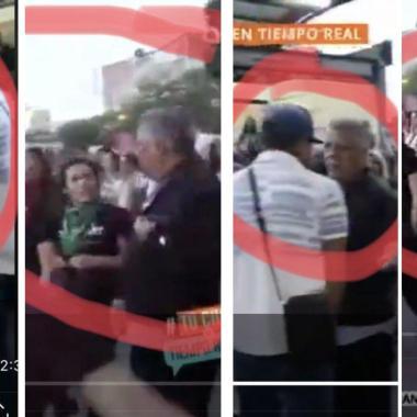 Quiénes son los agresores de reportero en marcha feminista