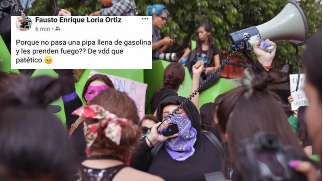 Funcionario de Fiscalía de Yucatán quiere incendiar mujeres