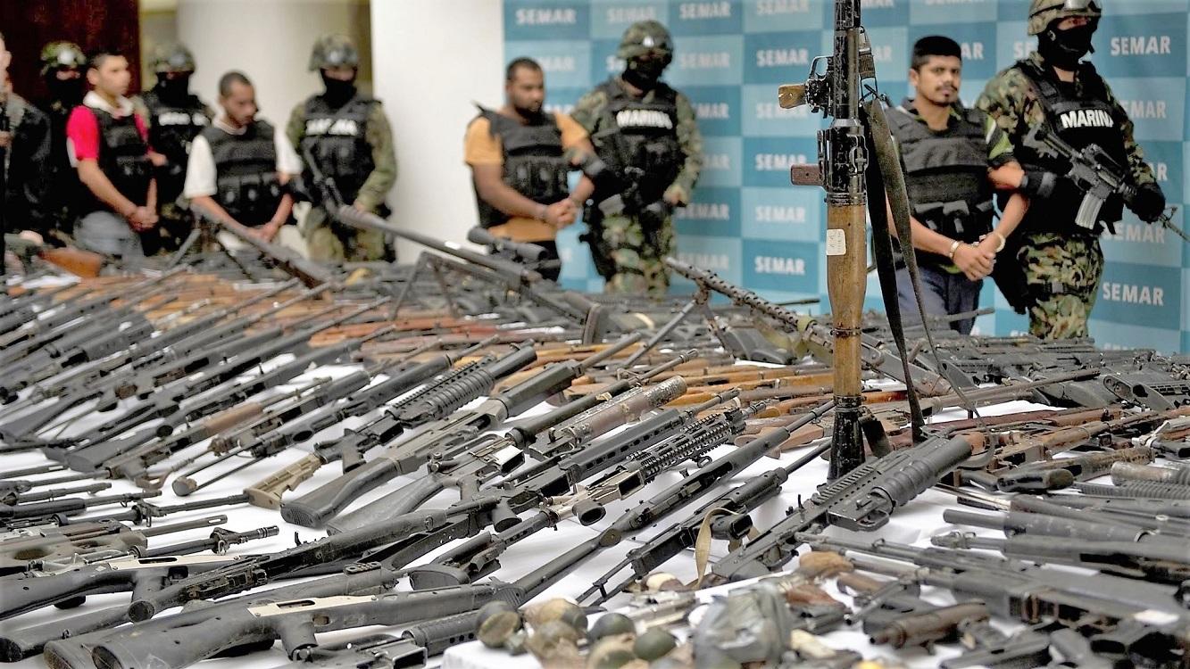 México es uno de los tres países que permite tener armas