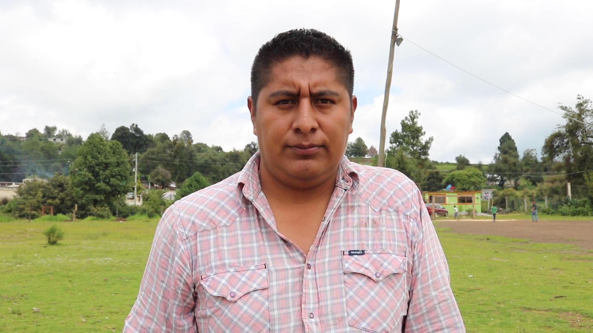 Misael Zamora, perseguido por proteger el bosque en Estado de México