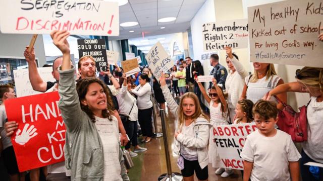 Niños sin vacunas no podrán ir a la escuela en NY