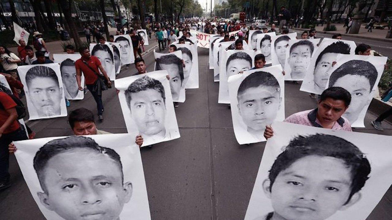 Ayotzinapa y la violación de derechos humanos
