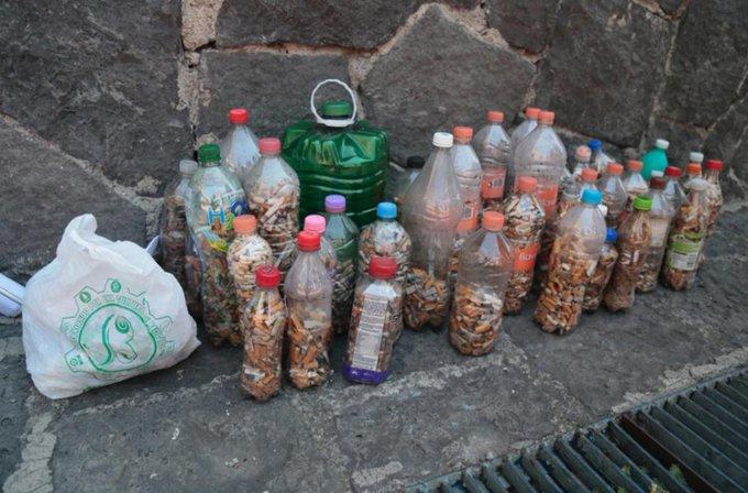Multas por tirar colillas en la Ciudad de México