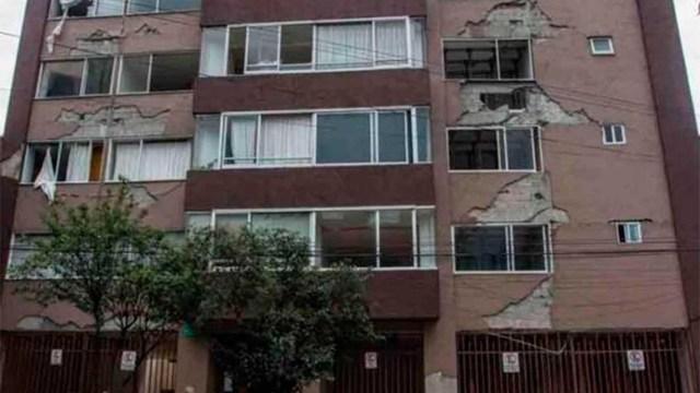 Viviendas que podrían colapsar con un temblor en la CDMX