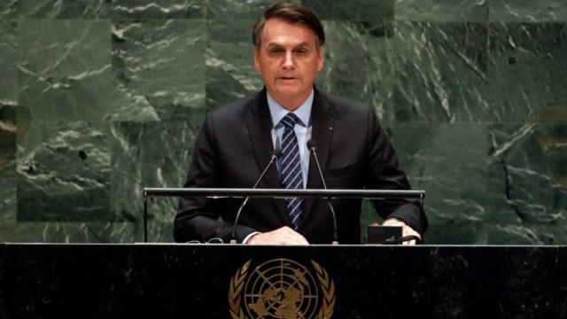 Bolsonaro ataca a Cuba y Venezuela en su discurso en la ONU