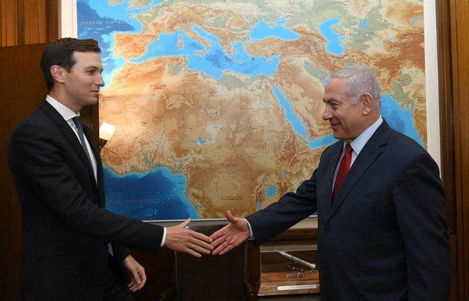 Reunión entre Jared Kushner y Benjamin Netanyahu