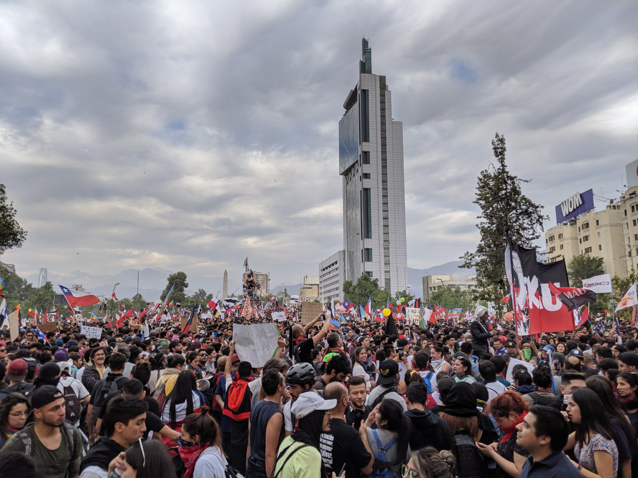 25/10/19, Protestas, Chile, Fotos, 2019