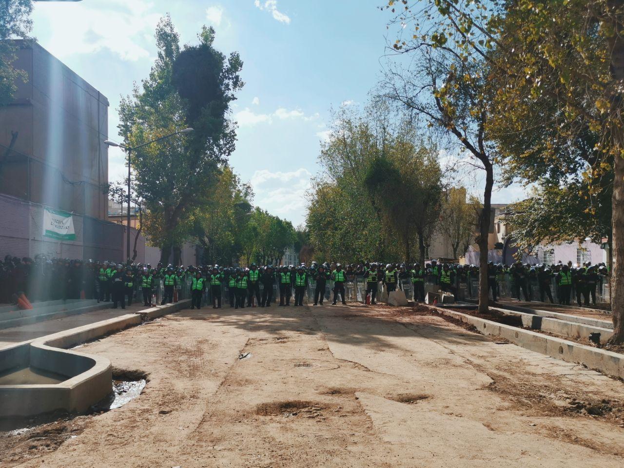 Así se está viviendo la marcha a 51 años de Tlatelolco