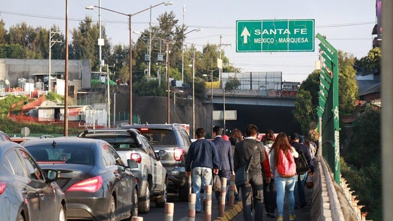 Reportan asaltos en Santa Fe durante bloqueos viales