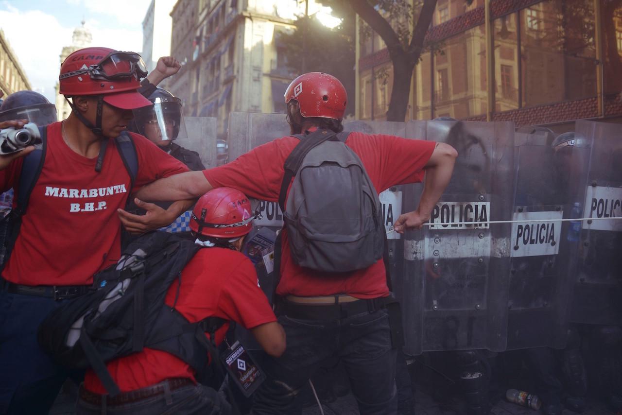 Quién es y qué hace la Brigada Humanitaria de Paz Marabunta
