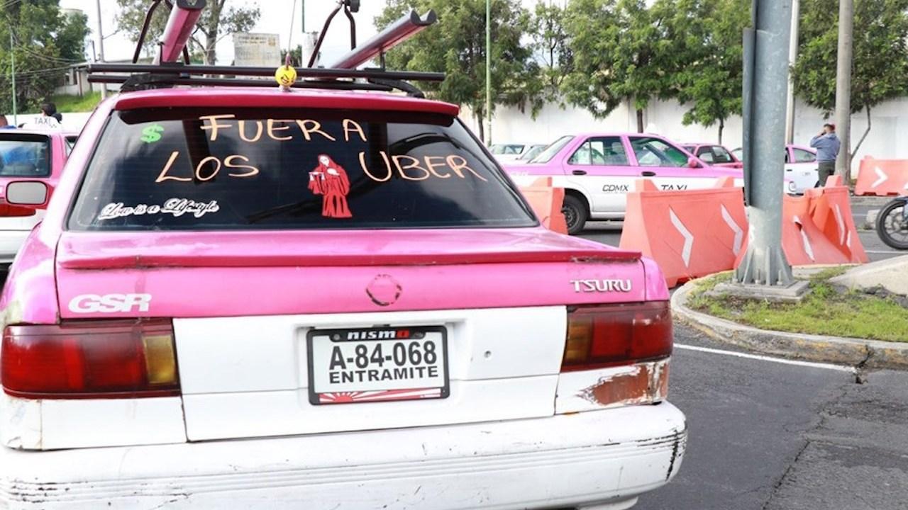 Se retiran bloqueos de taxistas en la CDMX