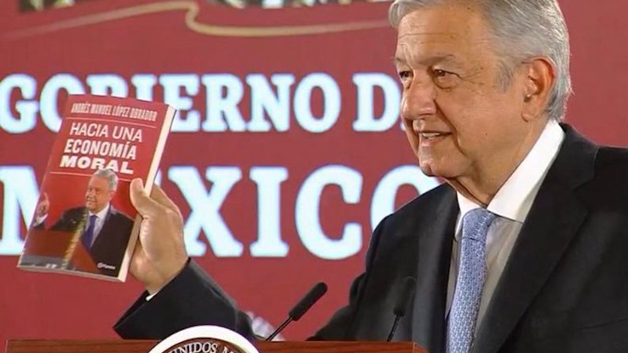 21/11/2019 Economia, Moral, AMLO, Libro