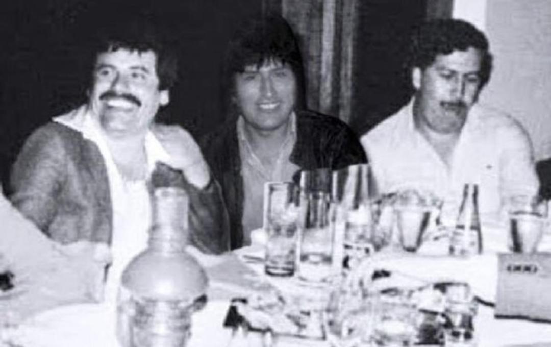 12/11/19, Evo Morales, Chapo Guzmán, Pablo Escobar, Foto