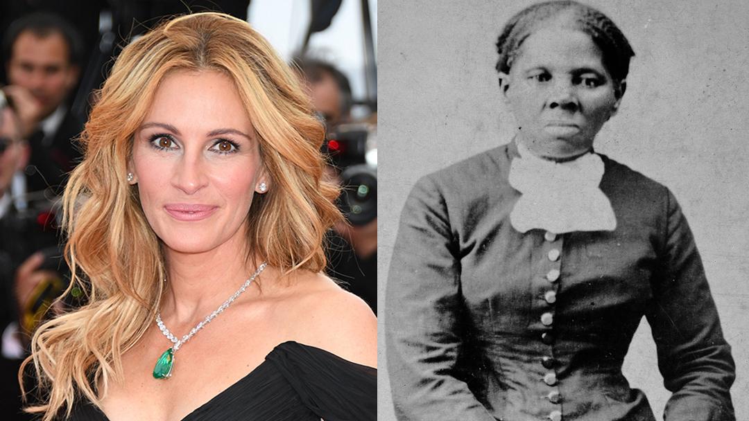 20/11/19, Julia Roberts, Harriet Tubman, Película, Negra