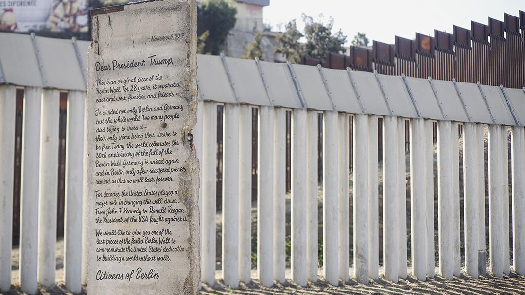 17/11/19, Muro Berlín, Frontera, Estados Unidos, México