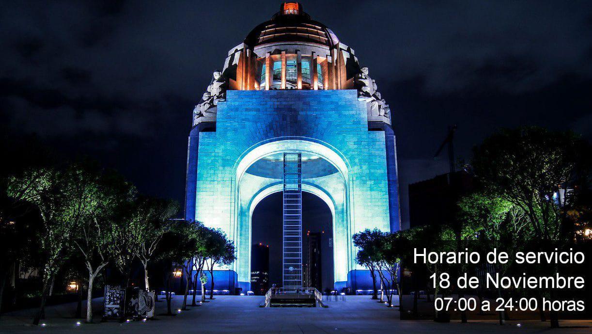 18/11/19, Parquímetros, Ciudad México, Feriado, Funcionan
