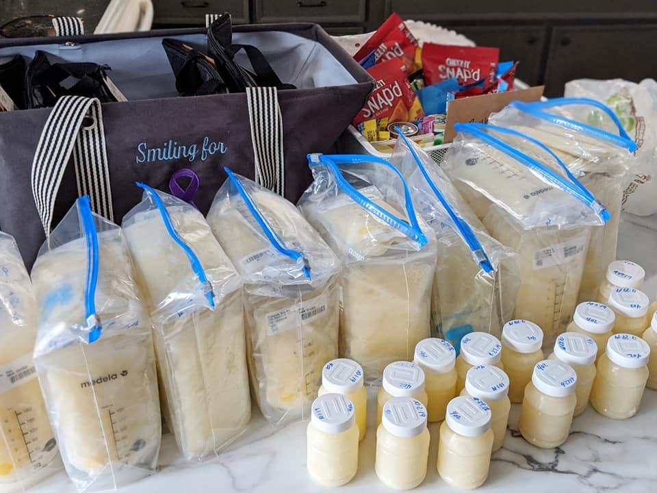 Madre donó leche materna tras la muerte de su b