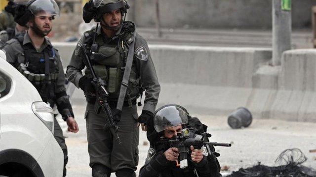Agente israelí disparó por la espalda a un palestino desarmado