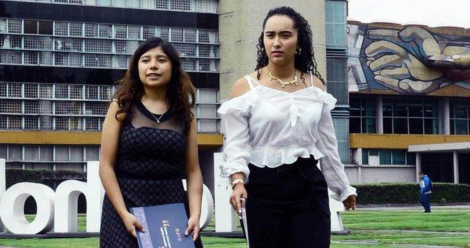 Alumnas, UNAM, Popotes, Mango
