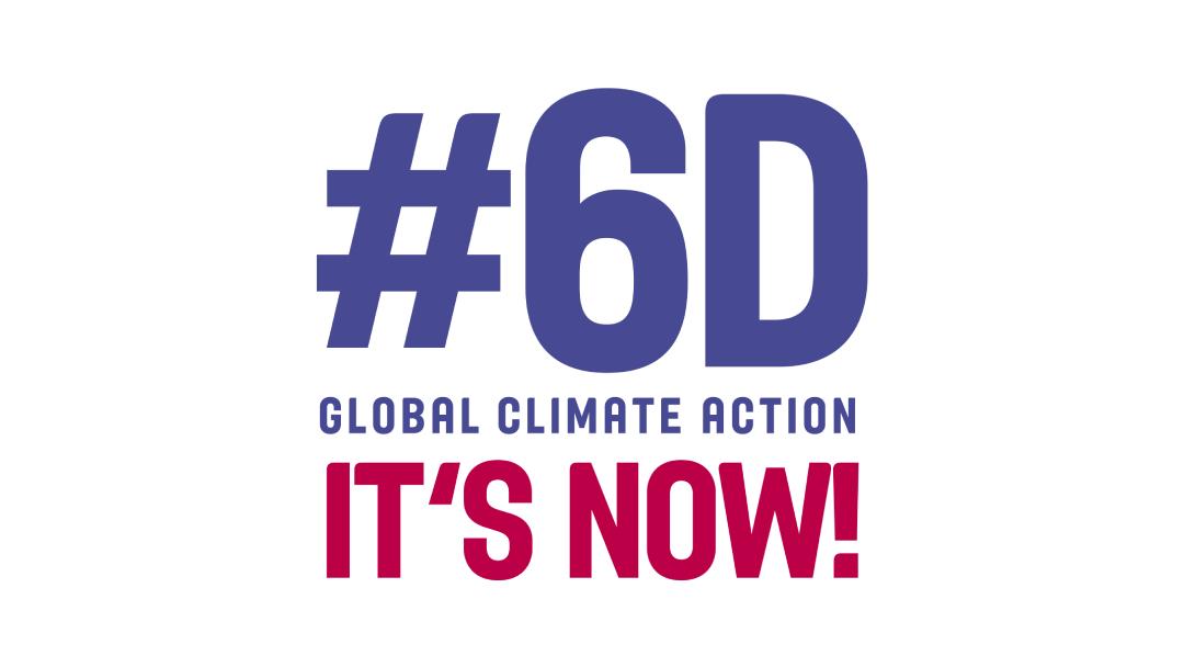 6D Logo Cambio Climatico