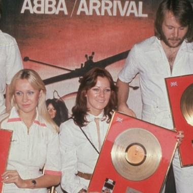 Anni Frid Lyngstad Con ABBA
