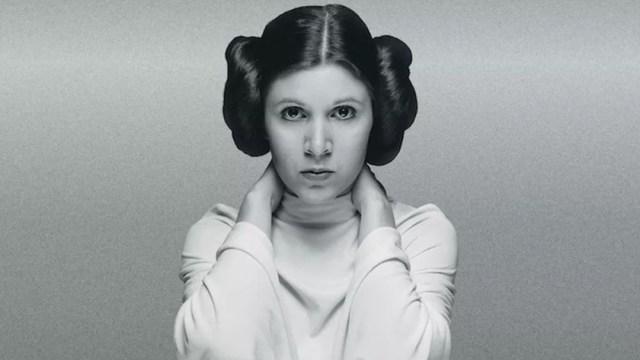 Carrie FIsher Princesa Leia Star Wars