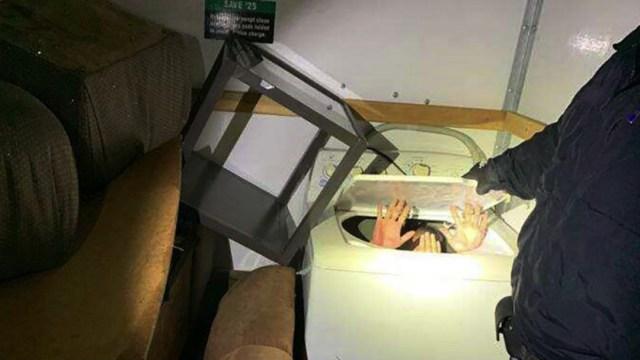 Inmigrantes chinos escondidos en muebles para entrar a Estados Unidos