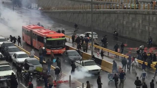 Manifestaciones Iran