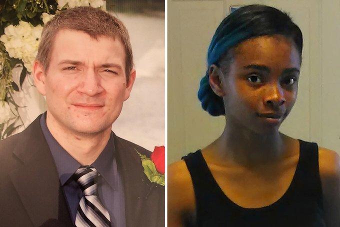 Randall volar y Chrystul Kizer, el presuntoa gresor que violó y prostituyo a la jovencita de 19 años