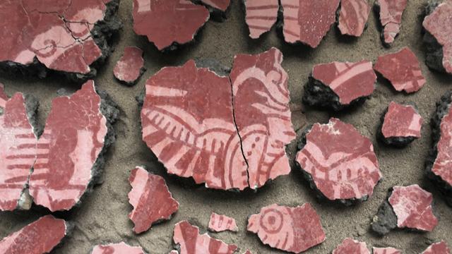 Teotihuacan Ceramica Hallazgo