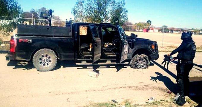 Palacio municipal baleado en Villa Union Coahuila hubo un enfrentamiento en el que murieron 22 personas