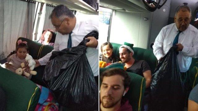 Chofer de Sinaloa regaló juguetes a niños que iban de pasajeros
