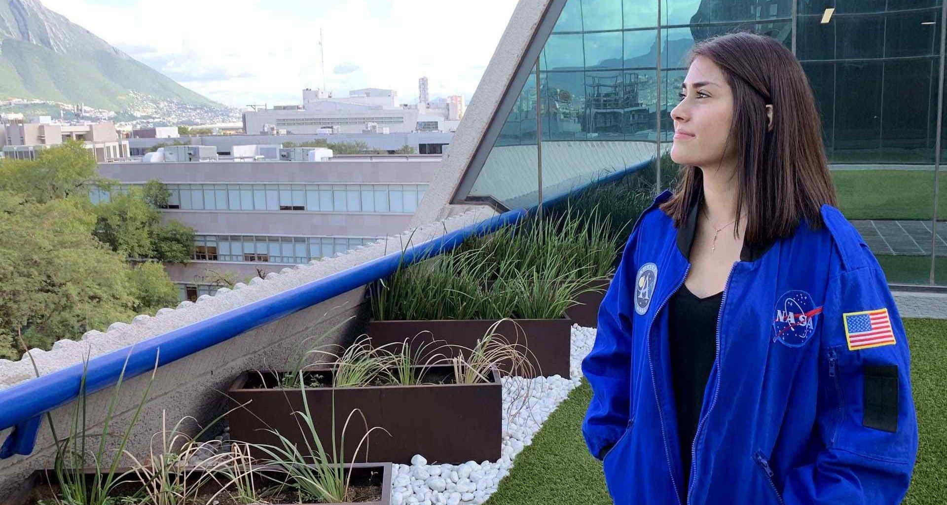 Estefania Oseguera Quiere Ser Astronauta