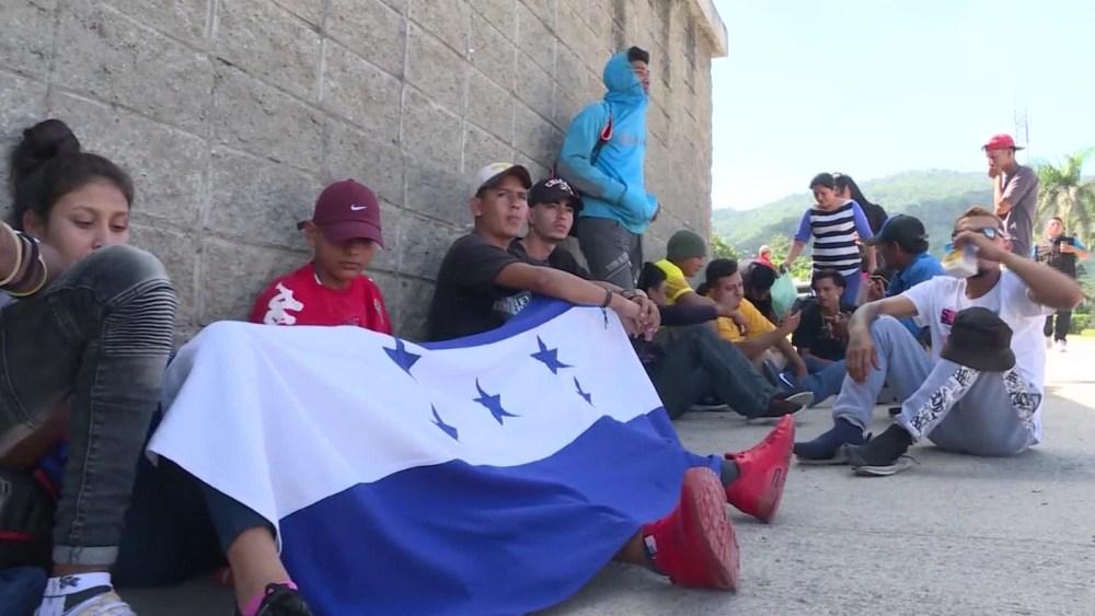 Nueva Caravana De Migrantes Parte De Honduras Se Dirige a Estados Unidos
