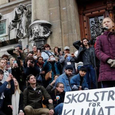 """Greta Thunberg Participa En Huelga Climática En Suiza: """"Aún No Han Visto Nada"""""""