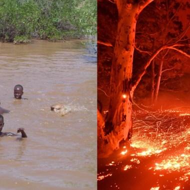 Australia Incendios Africa Inundaciones