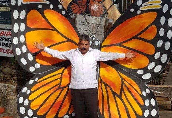 Homero Gómez el defensor de la mariposa monarca fue hallado muerto (Imagen: Proceso)