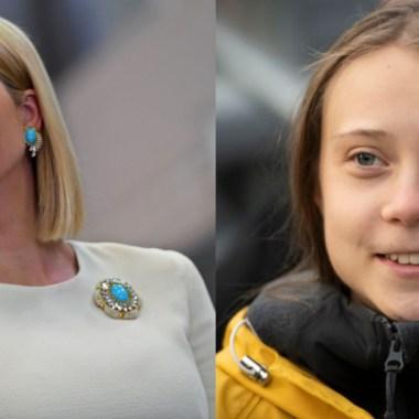 Ivanka Trump Greta Thunberg