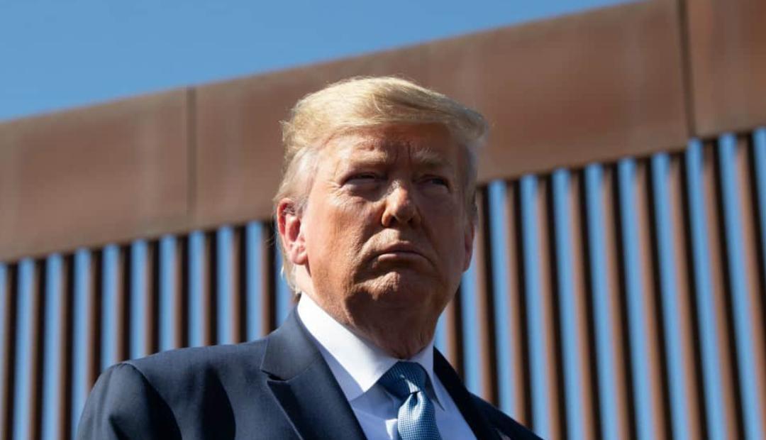 Trump asegura que México está pagando el muro fronterizo.